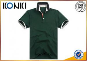 China Slim Fit Short Sleeved Polo Shirts For Men Fashion Design Uniform on sale