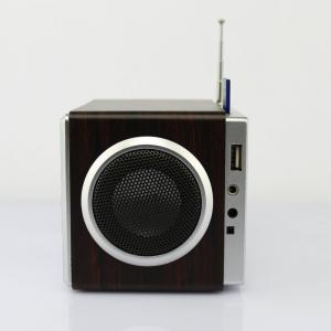 China Wooden FM Radio Speakers  on sale