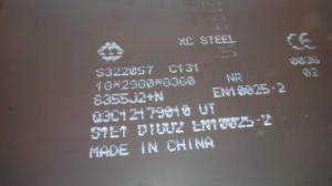 China Hot Rolled Alloy Steel Plate Grade Q345D EN10025  S355J2+ N S355J2 Equivalent on sale