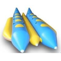 8 Person Double Lane Water Inflatable Banana Boat With PVC Tarpaulin