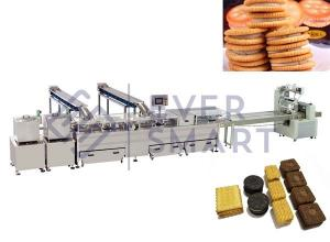 China Double color sandwiching machine with packaging machine on sale
