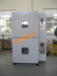 China Electric Thermostatic Heated Vacuum Drying Chamber , Reflow Laboratory Hot Air Oven on sale