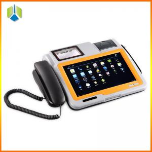 China 10.1 inch lottery pos terminal with RFID,IC card reader,3G,wifi on sale