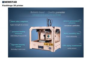 China Mini diy 3D printer with single head or dual extruder on sale