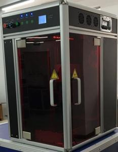 China Crystal 3D CNC Engraving Machine , 4000HZ 3D Glass Carving Equipment on sale