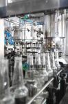 Cabeza de relleno de la máquina de rellenar 24 carbónicos asépticos del refresco de la botella de cristal