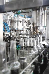 China Glass Bottle Aseptic Carbonated Drink Filling Machine with 24 Filling Head on sale
