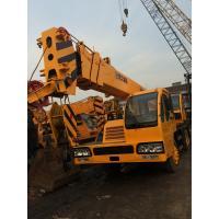 Manual Transmission 25 Ton QY25E Truck Crane From China Original Used XCMG Crane