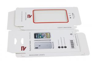 China OEM ODM Simple Modern Printed Design White Paper Electronics Packaging Boxes For Iphone Case on sale