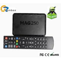 MAG250 Russian IPTV box RS-RA17 Linux System TV Set Top Box with Media JavaScript API
