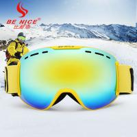 OTG Multicolor Lenses Snow Ski Goggles with Wind Dust UV 400 Protection