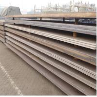 Bare Wear Resistant Hot Rolled Steel Plate Low Carbon For Boiler , Marine