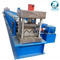 China Automatic Highway Guardrail Roll Forming Machine 2 / 3 Waves