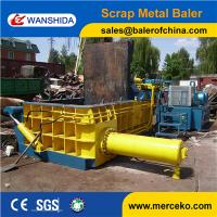 Equipment industry strong power Hydraulic Scrap Baler to press waste car  for sale