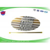 Custom Made EDM Brass Tube 0.17mm Applied High Speed EDM Drilling Processing