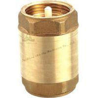 China Light Type Forged Brass Spring Check Valve with plastic core OR brass core on sale