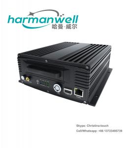 China Rugged Hard Drive 3G 4G 4CH Mdvr for Bus Truck Fleet CCTV Video Surveillance on sale