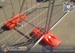 Hot dipped Galvanized Temporary  Fencing | Temp Fence Plastic Feet | AS4687-2007 standard