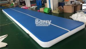 China 10x2x0.2m Tumble Track Inflatable Air Track Gymnastics Mat Easy To Move on sale