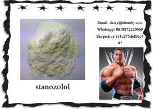 China White Crystalline Powder Bodybuilding Stanozolol Winstrol Hormones Steroid Male Enhancement Steroids CAS 10418-03-8 on sale