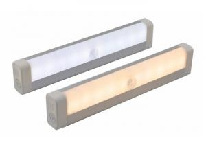 China Motion Sensor Undermount Cabinet Lighting , Cordless LED Under Cabinet Strip Lighting on sale