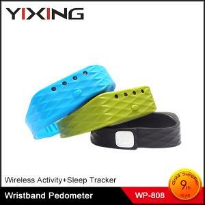China USB Bracelet Sleep Monitor Rechargeable Wearable Device Pedometer with LED Indicators on sale
