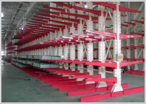 China Automatic Cantilever Metal Storage Racks Construction Long Items Storage on sale