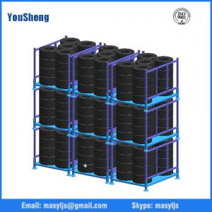 China Warehouse Storage Pallet Racking/Powder Coated Stacking Racks/Tire Rack for Tyre on sale