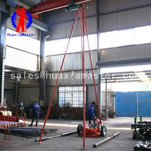 China Huaxia giant supply  sand and soil drilling wheel type 30 exploration drilling rig on sale