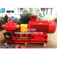 UL And FM Listed Horizontal Split Case Fire Pump Sets With TEFC Electric Motor Driver