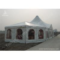 Combined A Frame And High Peak Huge Wedding Tents Hard Aluminum Alloy Frame