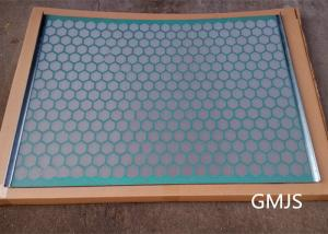China Stainless Steel Hook Strip Flat Shale Shaker Screen 20-325 ISO 9001 Certification on sale