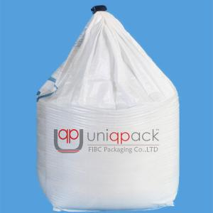 China Single Loop / 1 Loop Fibc Bulk Bags , 1 Tonne Bulk Bag For Animal Feed / Fish Feed on sale