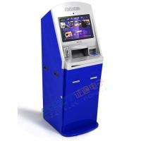 China ZT2401 Lobby Bill Payment Kiosk with credit card/cash payment & Barcode Reader on sale