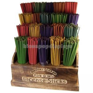 China Блоков шельвинг гондолы благоуханием выставочные витрины ладана ручки розничных деревянные on sale
