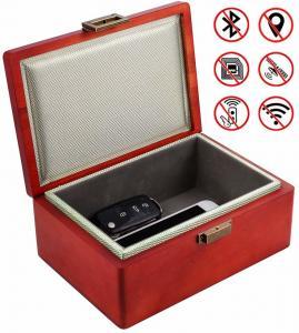 China Anti Theft Key Fob Faraday Box Signal Blocking Keyless Cars Security on sale