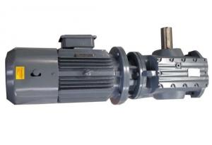 China Factory Price Best Sales Helical Worm geared motors S series speed reducer/Flange-mounted hollow shaft on sale