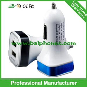 China 5V 2.1A Square LED car charger with electronic cigarette charger price on sale