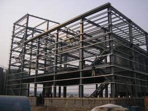 China Pre engineered steel structure building for sale on sale