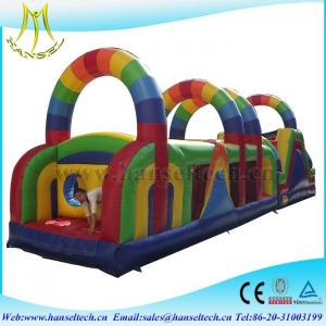 China Hansel spiral slide,obstacle sport game for children amusement equipment on sale