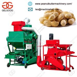 China Easy Operation Peanut Groundnut Sheller and Stone Cleaner Machine on sale