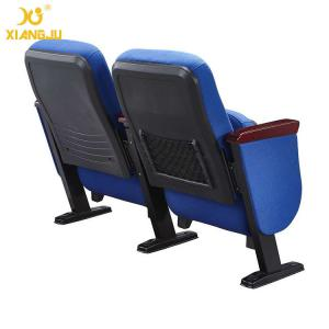 China Durable Tip Up PP Outer Back Pocket Wrap Fabric Government/ Lecture Hall Seating on sale