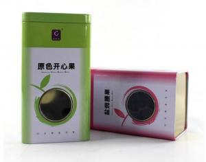 China Wholesale Pastoral Nuts Tin with Window on sale