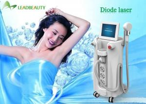 China 2000W strong Power !! 808nm diode laser hair removal machines / alexandrite laser 808nm hair removal on sale