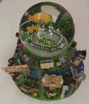 Globos del agua/de la nieve de la natividad del estadio/cajas de música de los waterglobespara los niños