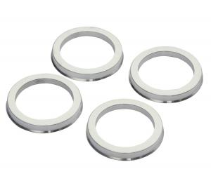 China Sturdy Alloy Wheel Hub Ring 4 Pcs , Subaru Impreza Spare Parts Easy Installation on sale
