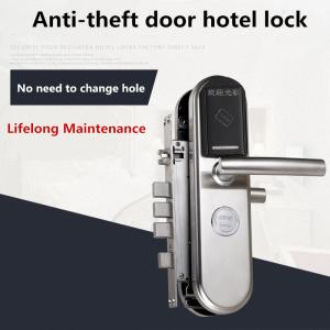 China Hotel / Apartment Intelligent Door Lock , Anti - Theft Electronic Smart Lock on sale