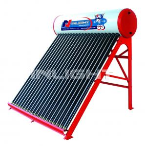 China 200 Color steel thermosiphonic gravity solar energy water heater on sale