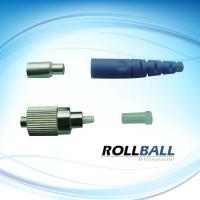 Corrosion Resistant FC Optical Fiber Connectors With Colorful Boots, Ceramic Ferrule