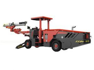 China Hydraulic Drilling Rig Machine Single Arm Single Arm Powerful Rotary Torque on sale